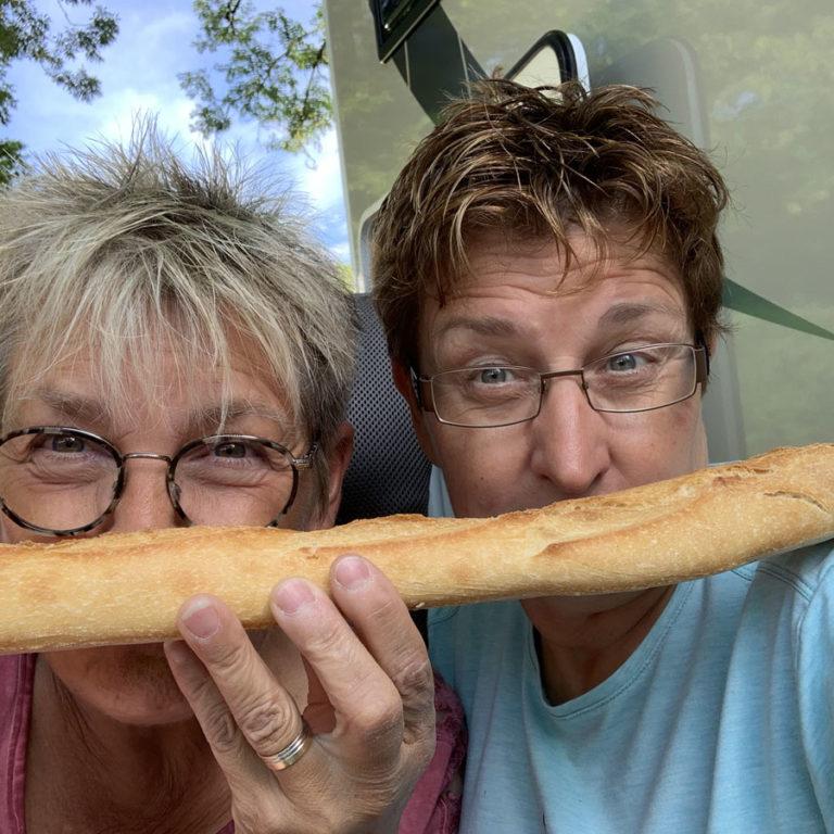 Frans brood : altijd lekker :-)